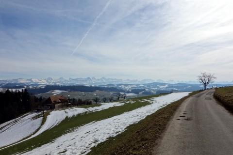 Epische Ausblicke in die Berner Alpen