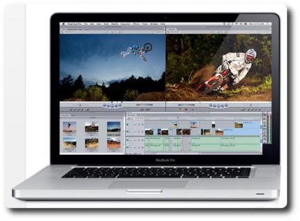 Werbung MacBook Pro mit Mountainbikefilm