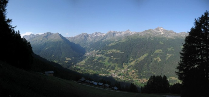 Panorama Weisshorntrail