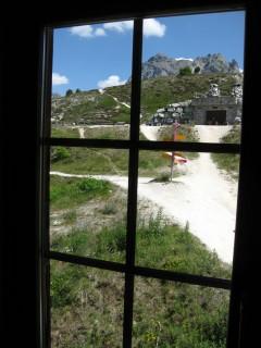 Hotel Weisshorn - Blick aus dem Zimmerfenster
