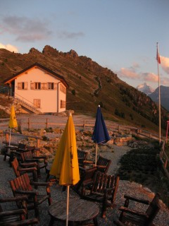 Hotel Weisshorn - Lounge und Terasse