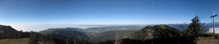 Panorama Wildspitz Nord