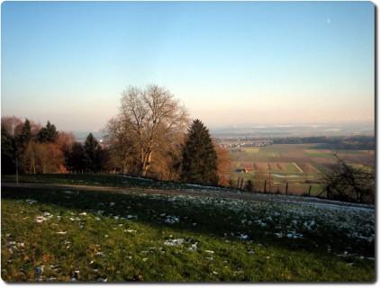 Winterstimmung und Limpachtal