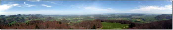 Panorama vom Wisenberg