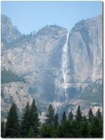 Yosemite Fall im Rauch
