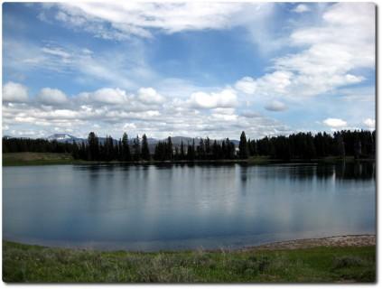 Erster Eindruck Yellowstone National Park