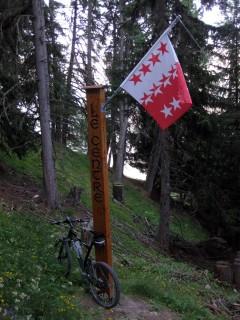 Geografisches Zentrum Kanton Wallis