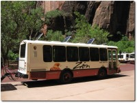 Zion NP - Bus Shuttle