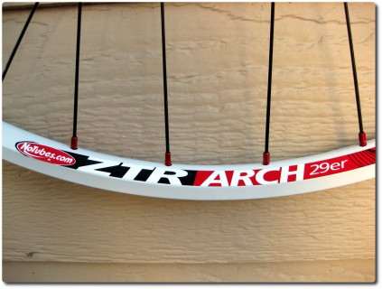Stans NoTubes ZTR Arch Felge - Weiss