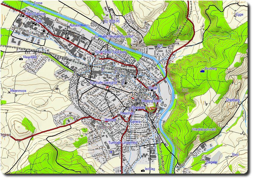 Die Garmin Topo Schweiz Karte V 3 Teil I Spoony S Bike Blog